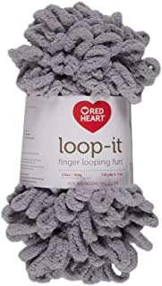 Red Heart Yarn Loop-IT ELEPHANTAS, Elephantastic, One Size