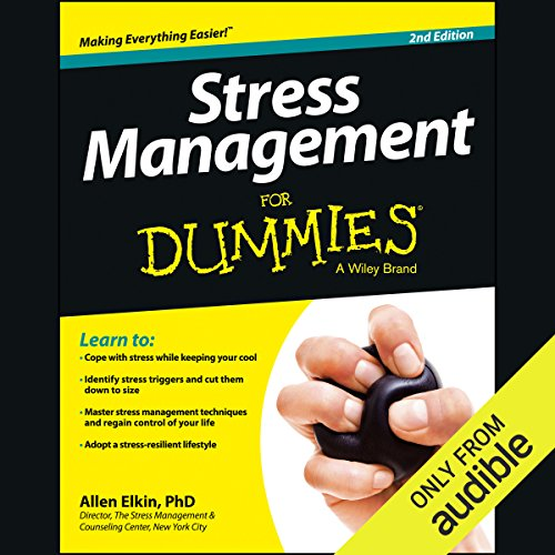 Stress Management For Dummies, 2nd Edition cover art
