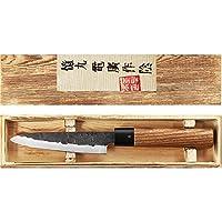 COUTEAU JAPONAIS - Avec ce couteau japonais, vous allez pouvoir trancher, ciseler et émincer facilement. Véritable couteau artisanal de chef Japonais (couteau Santoku), idéal pour préparer facilement les plats en cuisine. LAME - Couteau avec une lame...