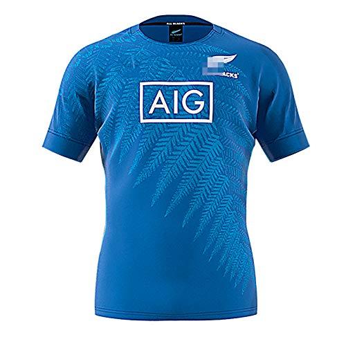 2019 Weltmeisterschaft Rugby Trikot Jersey, Herren Neuseeland All Black Training...