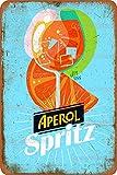 Aperol Spritz Vintage-Blechschild Kunst-Eisenmalerei
