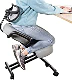 Best Kneeling Chairs - DRAGONN by VIVO Ergonomic Kneeling Chair with Back Review