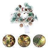 PRETYZOOM Luces de Hadas Led de Navidad Luces de Árbol de Navidad para Guirnalda de...