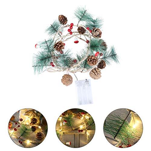 PRETYZOOM Luces de Hadas Led de Navidad Luces de Árbol de Navidad...
