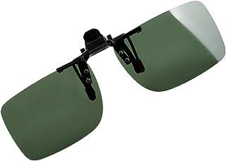 Xacxl - XacxlGafas de Sol con Clip Lentes de visión Nocturna de conducción Gafas de Sol polarizadas Accesorios Interiores Gafas de Conductor Anti-UVA