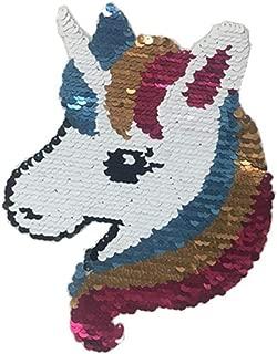 sequin unicorn patch