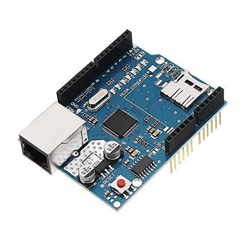 Für Arduino – Produkte, die mit offiziellen Boards arbeiten, Ethernet Shield Modul W5100 Micro SD Kartenslot für UNO Mega 2560 Erweiterungsplatine Modul