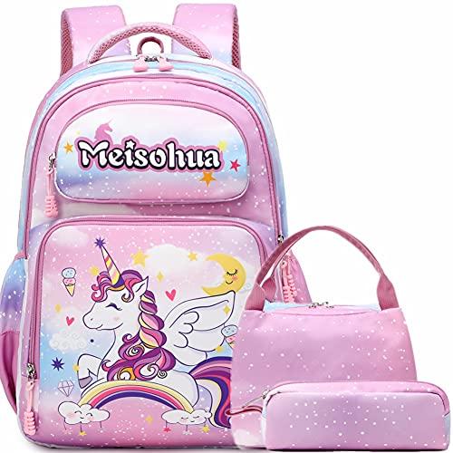 Mochilas Escolares Niñas Mochilas Infantiles Niña Mochilas Pequeñas Niña Mochila Unicornio Niña Sets de útiles Escolares
