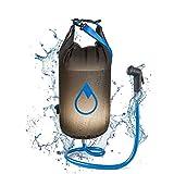 reiseregen® Basic – Camping-Dusche – 10L – Solar-Dusche + wasserdichter Outdoor-Drybag