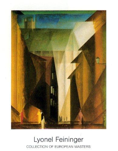 Art-Galerie Kunstdruck/Poster Lyonel Feininger - Barfsserkirche I - 70 x 90cm - Premiumqualität - Made in Germany