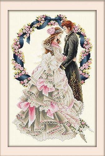 Envío rápido y el mejor servicio Cross stitch embroidery kit kit kit Happy Wedding (japan import)  opciones a bajo precio