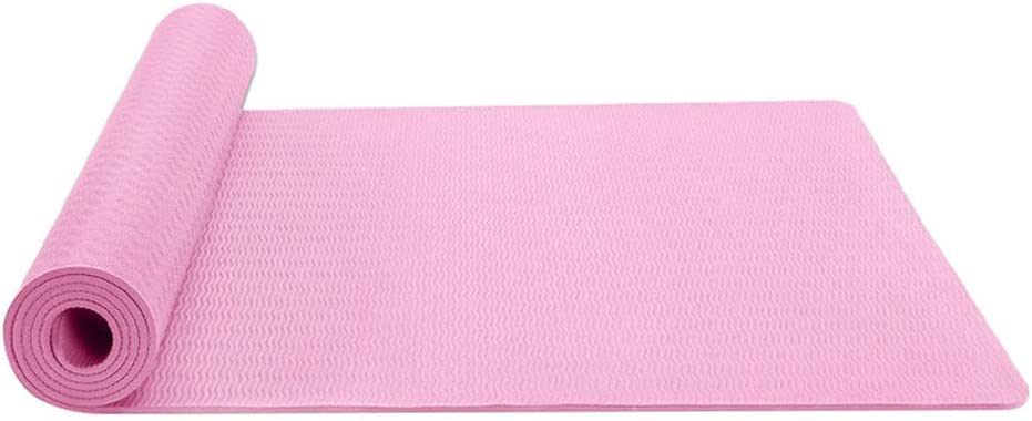 Akaslife Yoga Exercise Mat, Classic Pro Yoga Mat TPE Eco Friendly Non Slip Fitness Exercise Mat Non Slip Extra Thick for All Types of Yoga, Pilates Fitness Mat Exercise & Home Workout