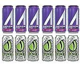 LUV BOX- variety Energy drink 16 oz. pack of 12 , Adrenaline Shoc Smart Energy Acai perry, VENOM LOW CALORIE CITRUS ENERGY DRINK. #N