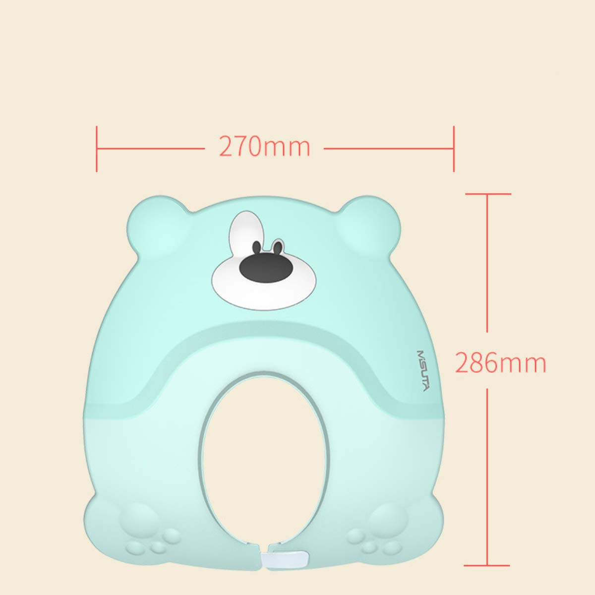 Baby Shampoo Cap Silicone Shower Protection Hat Children's Adjustable Bathing Cap TPE PP Material Suitable for Toddlers, Babies, Kids