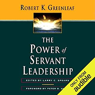 The Power of Servant Leadership  audiobook cover art