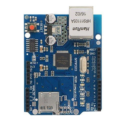 Smraza Ethernet Shield W5100 Scheda di Rete Modulo per Arduino UNO R3 Mega 2560 1280