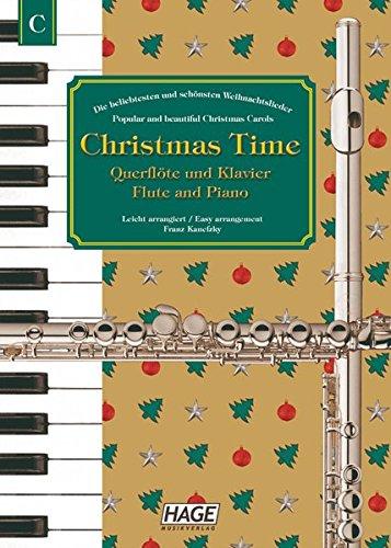 Christmas Time, 37 bekannte Weihnachtslieder für Querflöte und Klavier