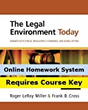 Aplia for Miller/Cross  The Legal Environment Today: Business In Its Ethical, Regulatory, E-Commerce, and Global Setting, 7th Edition