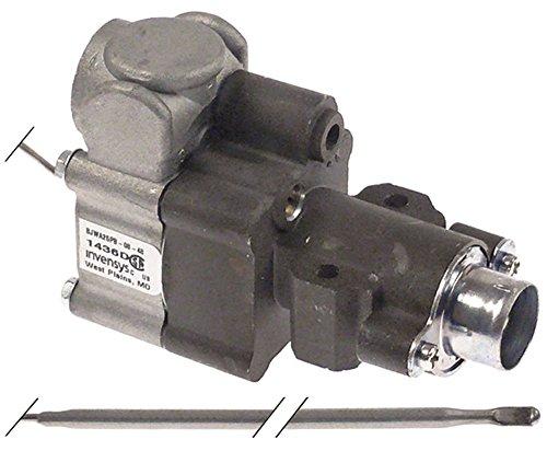 IMPERIAL USA Gasthermostat BJWA25PB für IR2000-Series mit Flansch max. Temperatur 287°C 93-287°C Gasausgang 7/16' oben 13mm
