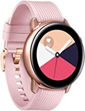 Diruite for Samsung Galaxy Watch Active 40mm Band Strap, 20mm Classic Silicone Strap Band for Galaxy Watch 42mm / Galaxy Active 40mm Smartwatch - Pink