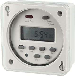 AC/DC 24V Digital Electronic LCD Time Relay Switch Programmable Timer