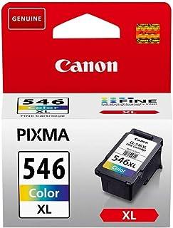 Canon CL-546XL Cartucho de tinta original Tricolor XL para Impresora de Inyeccion de tinta Pixma TS3150-TS3151-MX495-MG2450-MG2550-MG2550S-MG2555S-MG2950-MG3050-MG3051-MG3052-MG3053-IP2850