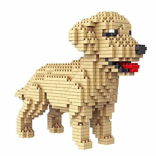 Hund Golden Retriever. 950 Teile.
