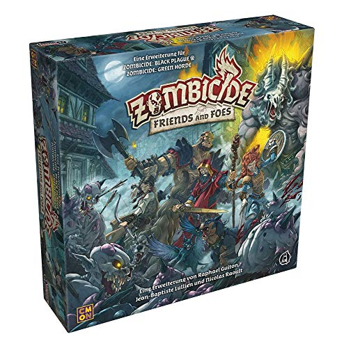 Zombicide: Friends and Foes - Black Plague and Green Horde Extension