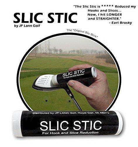 JP Lann Golf Slic Stick Anti-Slice/Anti-Hook Compound for Clubs (2)
