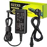 SZZXS Para HP 45W cargador 19,5V, 2,31A Adaptador AC/Suministro de Cable de alimentación para HP Elitebook Folio Spectre Ultrabook HP Stream 11 13 14 P/N: 719309-001 719309-003 721092-001 (4,5 x 3 mm)