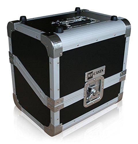 """MF-CASES Plattenkoffer für 80 LPs Case DJ Platten Schallplatte Flightcase 12"""" Box"""