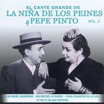 El Cante Grande de la Niña de los Peines y Pepe Pinto Vol. 2