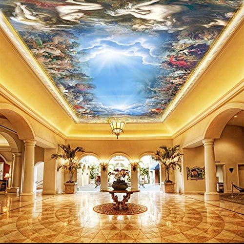 QThxqa Fototapeten 3d für Wand Wand für Wand 5d Papier Wandbild Decke 3d Wandbilder für Sixtinische Kapelle Wandbilder