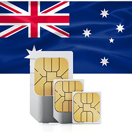 Australia & New Zealand 3GB Prepaid Fast Internet Data SIM 42 Countries Instant Connection 30 Day Plan