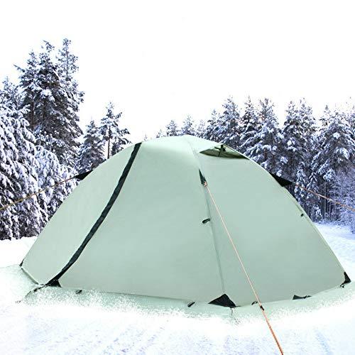4 Estaciones Impermeable Tienda Camping Fácil De Montar 2 Personas Doble Capa Tienda Iglú para Trekking Camping Playa Aventura Etc
