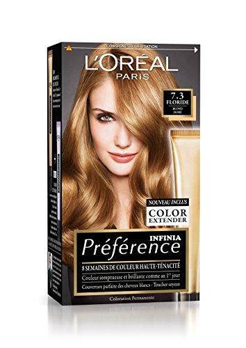 L'Oréal Paris Préférence Coloration Permanente 7.3 Blond Doré