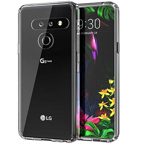 MoKo Compatibile con LG G8 ThinQ Custodia/LG G8 Custodia/G820 Custodia/G8S Custodia, Cover Cellulare in TPU, Accessori Cellulare, Custodia Protettiva per LG G8 ThinQ/LG G8/G820/G8S - Trasparente