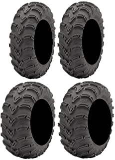 Full set of ITP Mud Lite (6ply) 25x8-12 and 25x11-10 ATV Tires (2)