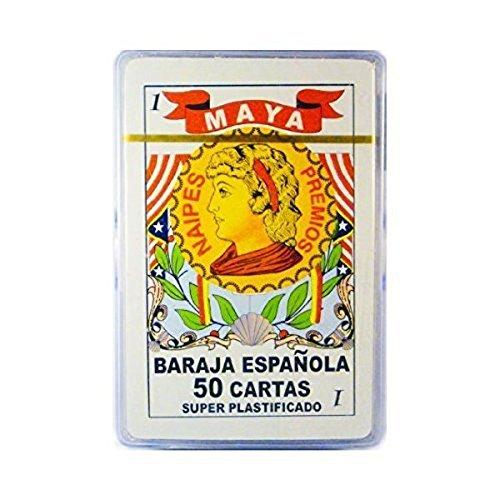 Barajas Espanolas En Caja Plastica, Spanish Playing Cards, Plastic Case