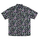 ブラック L (ベストマート)BestMart RIPNDIP シャツ ユニセックス 総柄 花柄 メンズ 長袖 長そで ブランド STREET 623551-006-001 [並行輸入品]