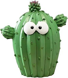 IMIKEYA - Hucha con forma de cactus para decoración de guardería o casa (patrón aleatorio, unisex)