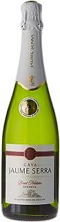 Jaume Serra Brut Nature Reserva Cava Premium, 15 Meses de Crianza, Volumen de Alcohol 11.5%, 75 cl