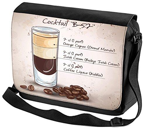 Umhänge Schulter Tasche Plakat Motiv Cocktail B-52 Bedruckt Küchenmotiv