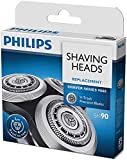 SH90 Replacement Heads for Philips Norelco Shaver Series 9000 ,Series 8000 & 8950,3 Sharp Blades, Easy Cut and Installation
