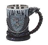 PERFECTLIFE Game of Thrones Winter is Coming Tankard - Jarra de...
