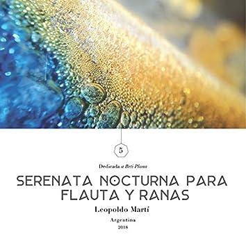 Serenata Nocturna para Flauta y Ranas