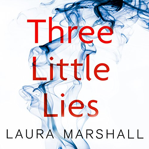 Three Little Lies audiobook cover art