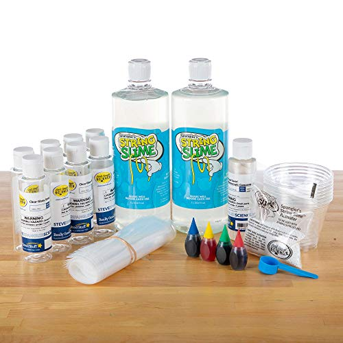 Steve Spangler Science String Slime, Classroom Kit (for 24 Students) – Insta-Worm Science Experiment Kit for Kids, Explore and Teach Science of Polymers, Exciting STEM Activity