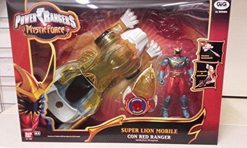 Giochi Preziosi - Power Rangers Mystic Force Super Dragon mobile RED Ranger