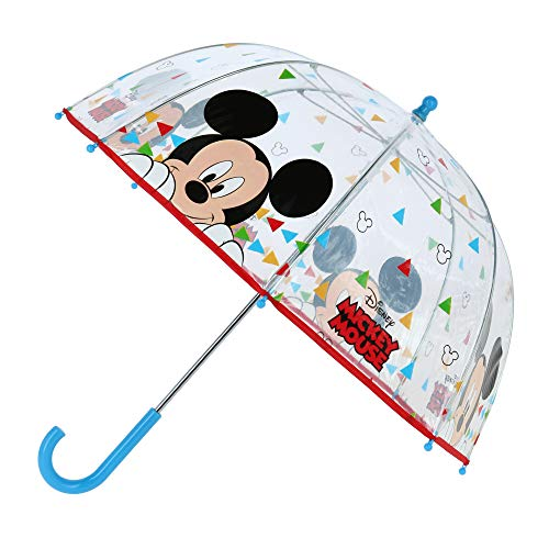 Mickey Mouse Stockschirm Multicolor | Micky Maus | Kinder Regenschirm